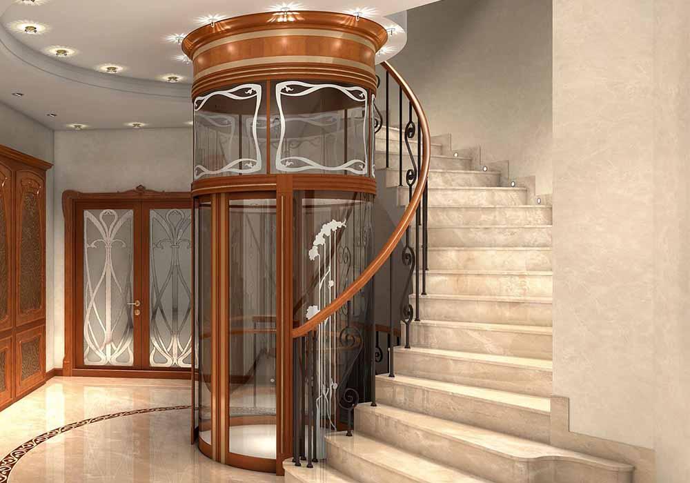 ascensore edificio storico