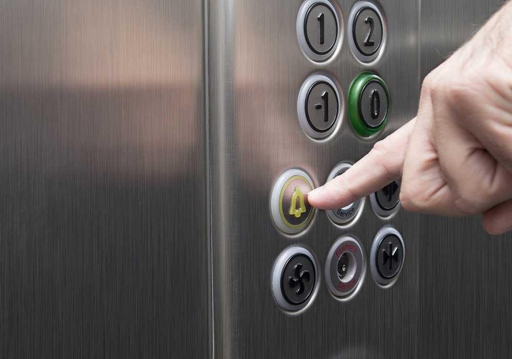ascensore bloccato