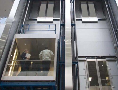 Gli ascensori negli edifici pubblici